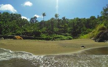 Bulangan Beach. East Coast Tagulandang Island. Sitaro, Sulawesi Utara, Indonesia