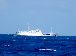 Japanese Fishing Vessel in the Pacific