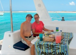 Lunch at Sandy Isle Grenada