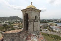 San Felipe Lookout Tower, Cartagena, Colombia