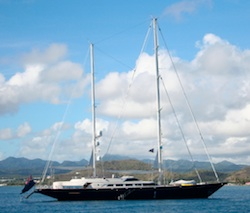 S/Y Antara at Vieux Fort, St. Lucia