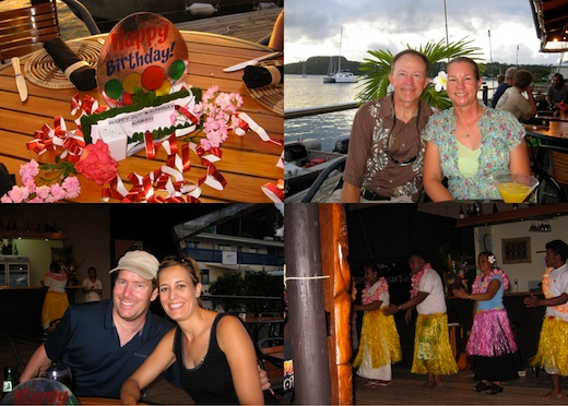 Birthday photos in Tonga