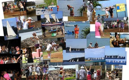 Collage of Regatta photos