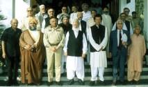 General Pervez Musharraf with Imran Khan and Mullahs