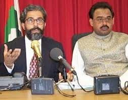 Dr Imran Farooq & Muttahida Qaumi Movement (MQM) chief Altaf Hussain.