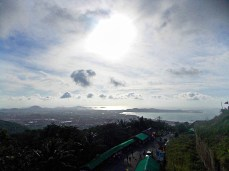 Big Buddha's view of Kata and the Andaman Sea