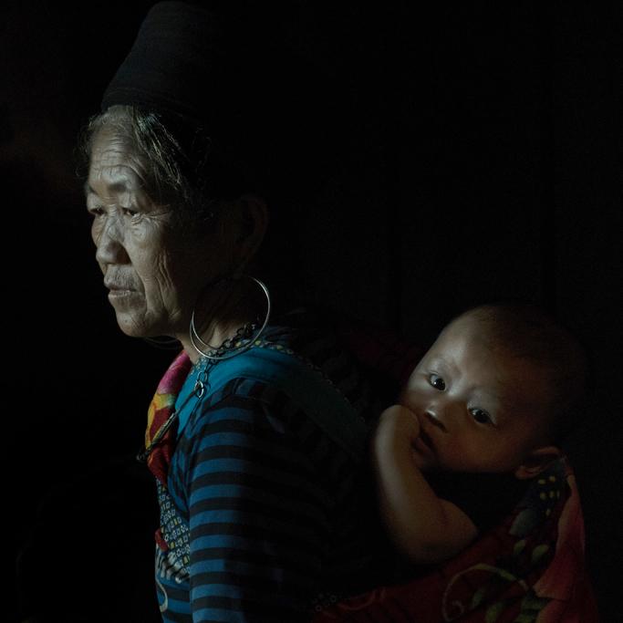 Hmong Woman- /Sapa / Nord Vietnam