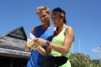 The Amazing Race: Skydiving in Bora Bora