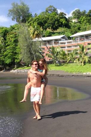 Audrina Patridge in Tahiti