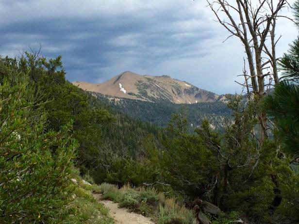 Freel Peak - Thunderstorms on the Horizon