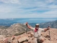 Freel Peak, 10,881' The highest peak in the Tahoe Basin