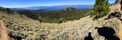 Looking west from Snow Valley Peak