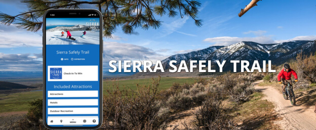 Sierra Safely Trail Lake Tahoe and Carson Valley