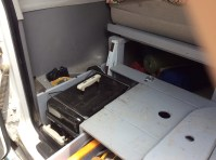 Cooking with gas! I built a compartment for out small propane Weber BBQ