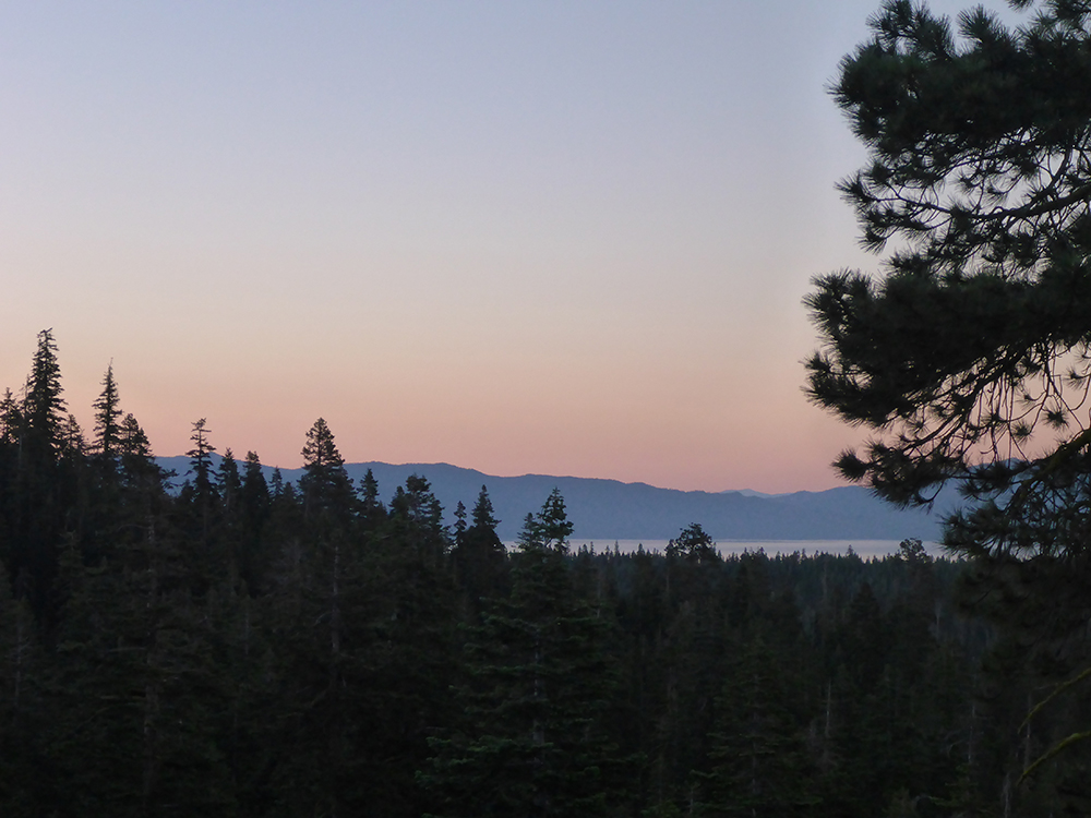 26-Lake Tahoe at Dusk