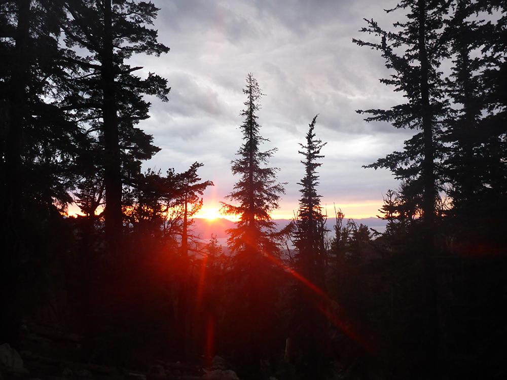 57-Sunset Viewed Near Star Lake