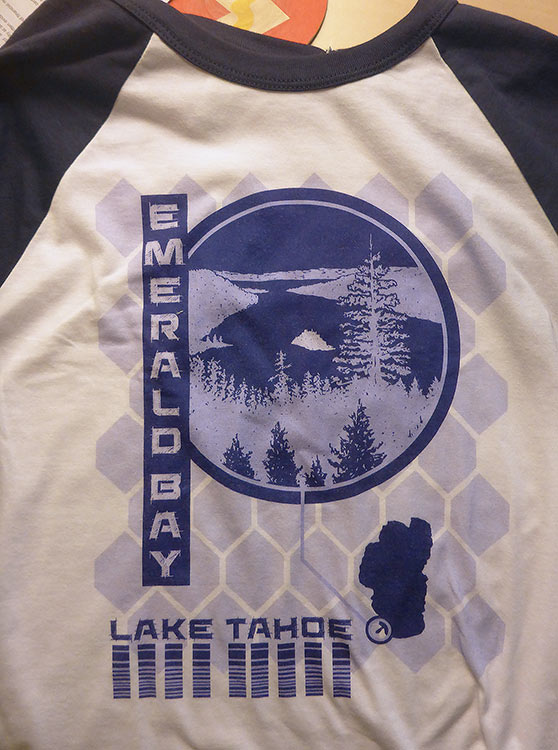 Emerald Bay at Lake Tahoe RedBubble Jersey Shirt