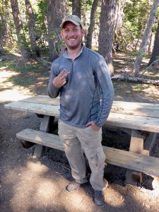 "18 - Southern Californian Tahoe Rim Trail Hiker by the Trail Name of ""ET"""
