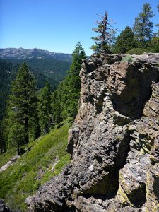 25 - Conglomerate Rock Above the Truckee River Just Out of Tahoe City