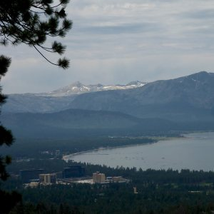 56 - South Lake Tahoe's Shoreline and the Stateline Casinos