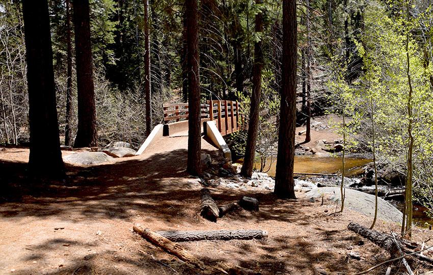 Bridge at Cold Creek Trail