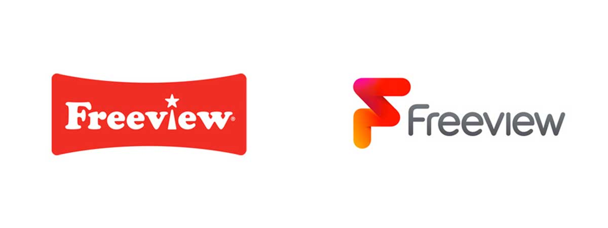 Freeview's new logo and brand change