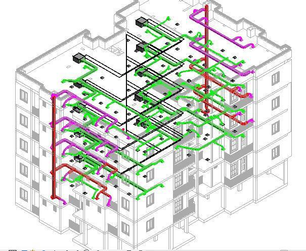 Building Layout Template