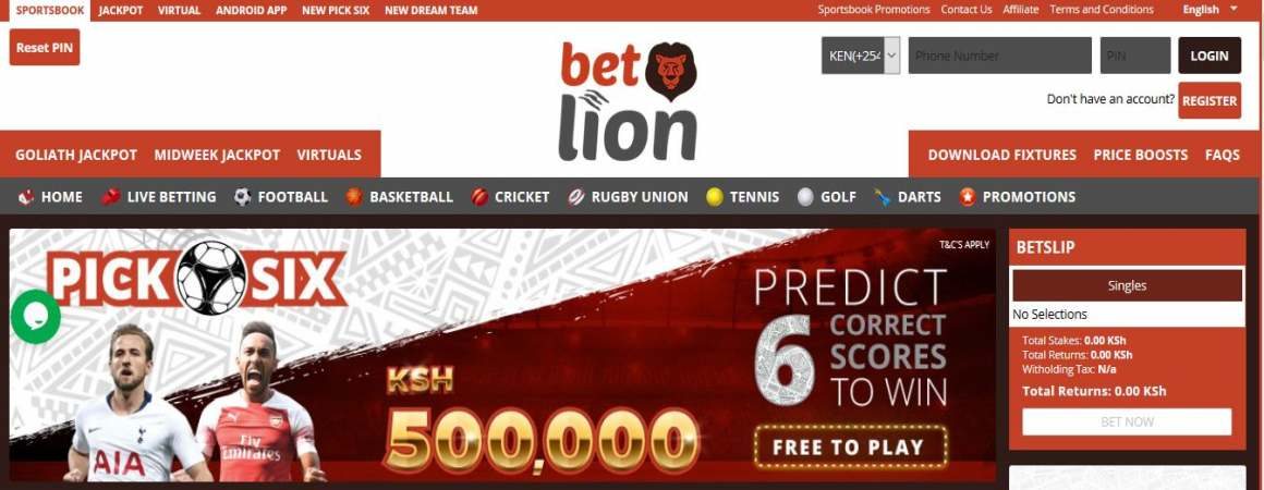 Betlion Midweek Jackpot Results, Bonuses and Jackpot Winners