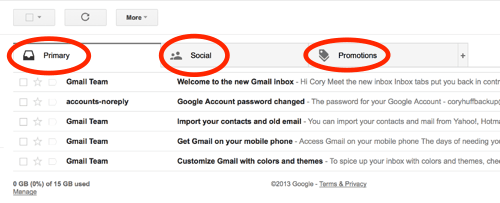 How to Ensure the emails that we send via Email  Reach your email Primary Tab (Inbox)…