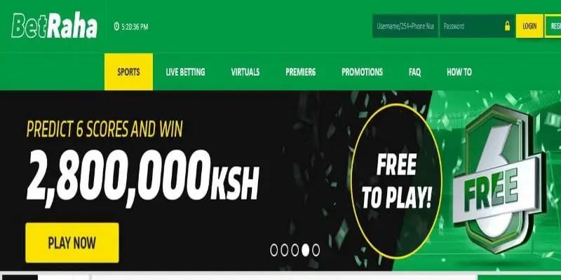 BetRaha Registration, Login, Deposit, App, PayBill Number, Jackpot, Contacts