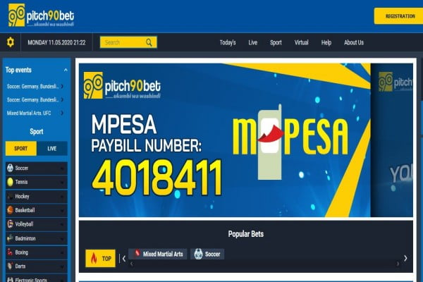 Pitch90Bet Registration, Login, Deposit, App, and PayBill Number