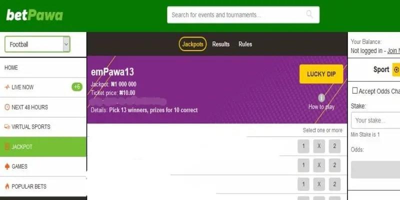 BetPawa Nigeria Midweek Jackpot Predictions