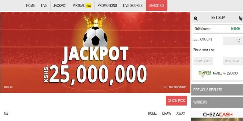 ChezaCash Jackpot Prediction
