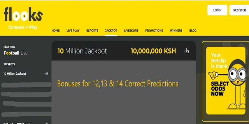 Flooks 10 Million Jackpot Prediction