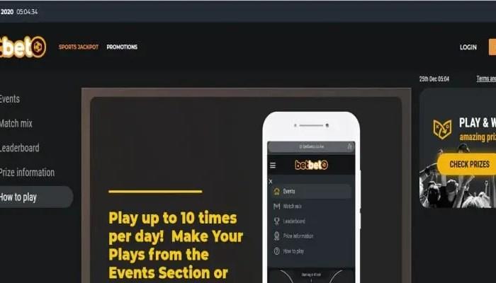 BetBeto Registration, Login, Deposit, App, PayBill Number, Jackpot, Contacts