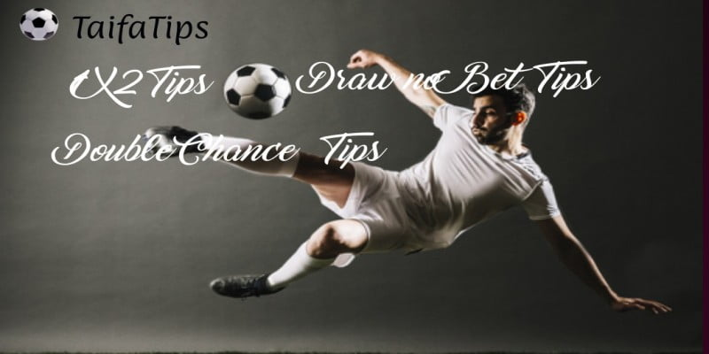 1X2, Draw no Bet, Double Chance Football Tips and Predictions