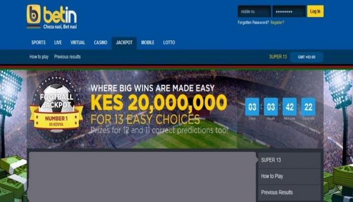 1st & 2nd September 2018 Betin Jackpot Fixtures and Predictions