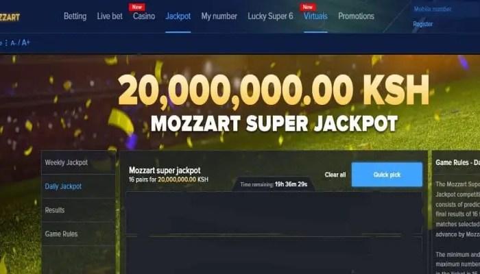 16th January Mozzart Super Jackpot Predictions