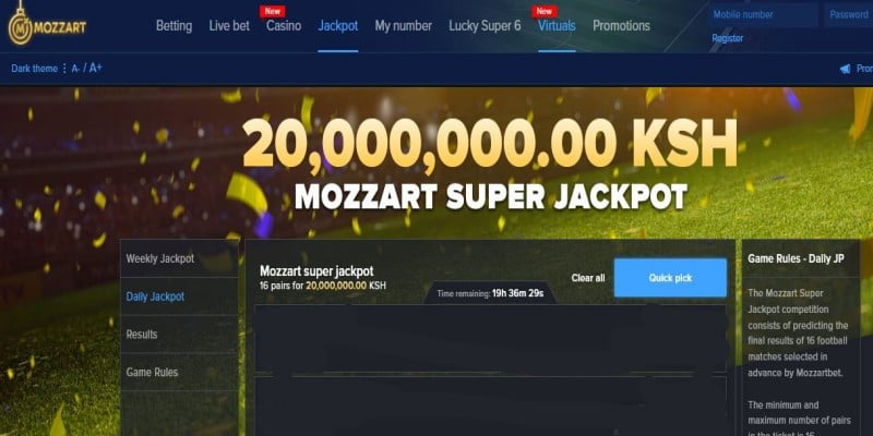 Mozzart Super Jackpot Predictions