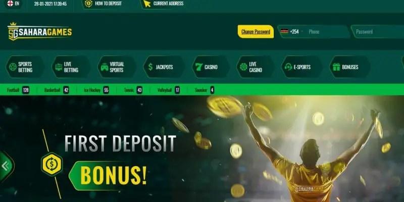 Sahara Games Kenya PayBill Number; How to Deposit Money into Sahara Games Kenya Account
