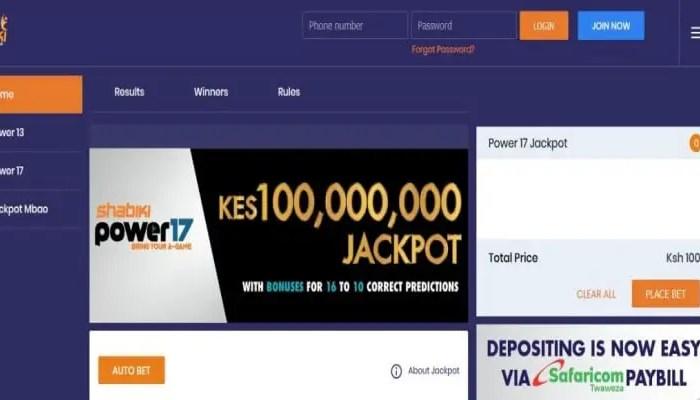 12th & 13th October Shabiki Power 17 Jackpot Predictions
