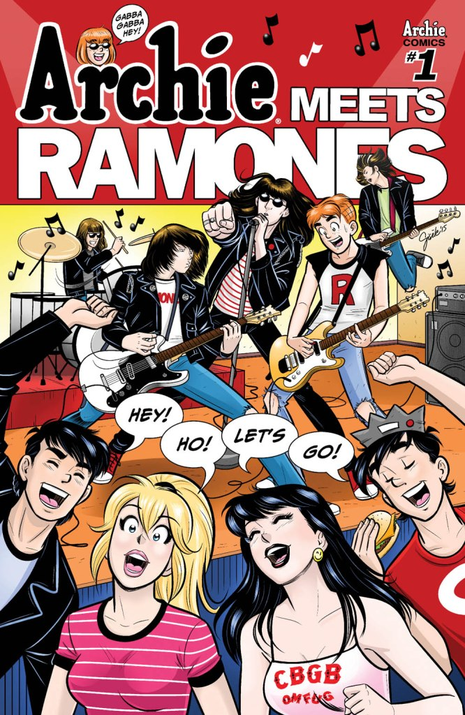 Comic Book Review – Archie Meets Ramones #1