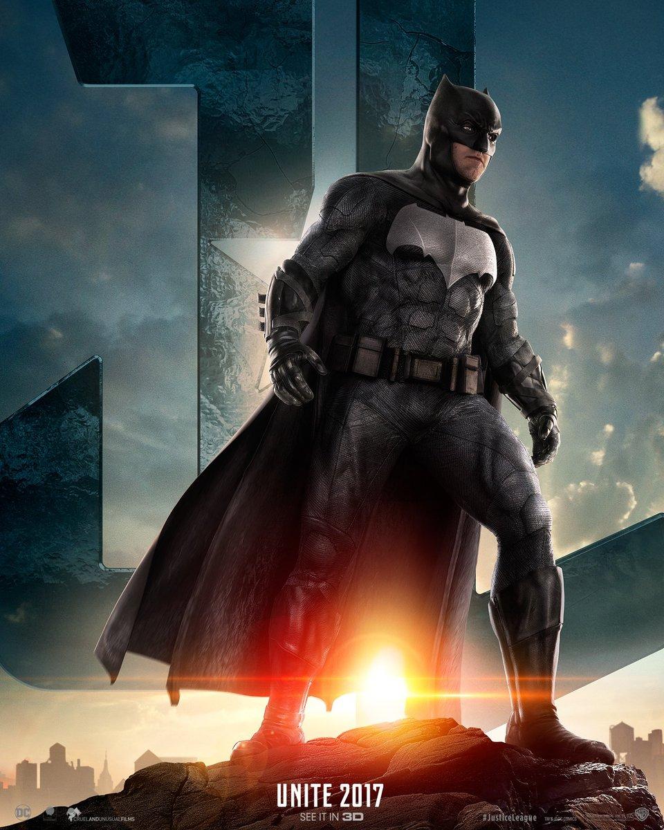 Batman featured in Justice League promo
