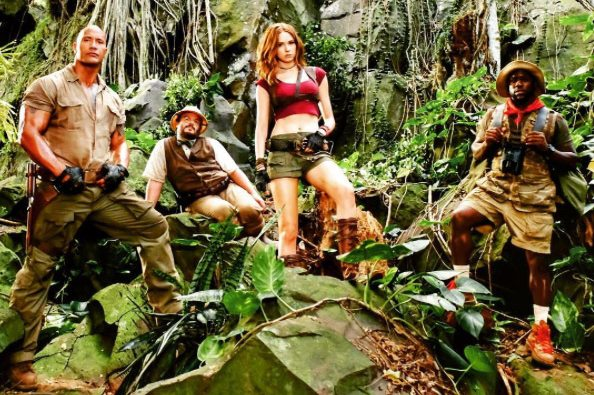 Flickering Myth Reaction to first Jumanji: Welcome to the Jungle trailer