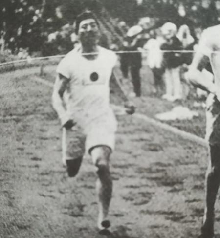 三島は金栗と共に日本初のオリンピック選手となった
