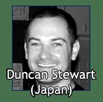 Duncan Stewart, Shihan (Japan)