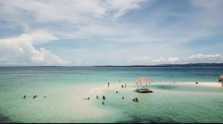 パンダノン島、アイランドホッピング