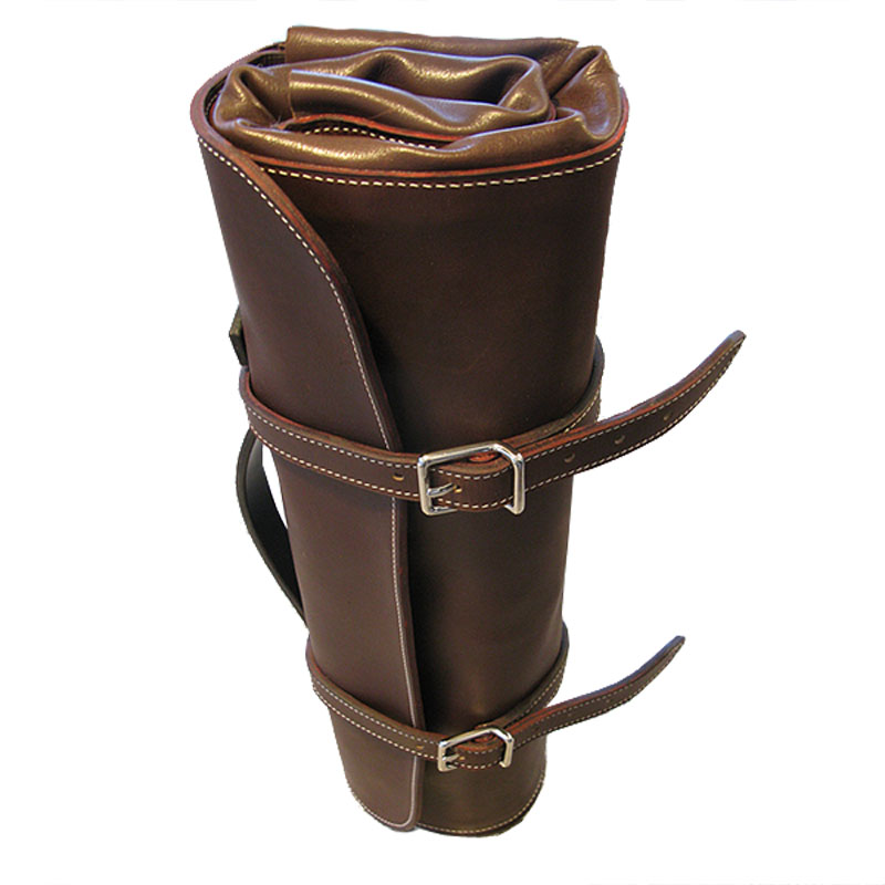 Leather chefs knife roll