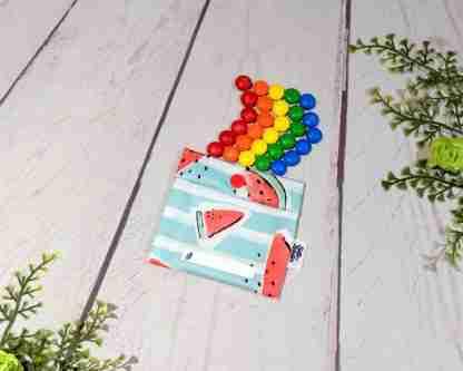 Sac mini collation 4x4 - Arc-en-ciel de bonbons