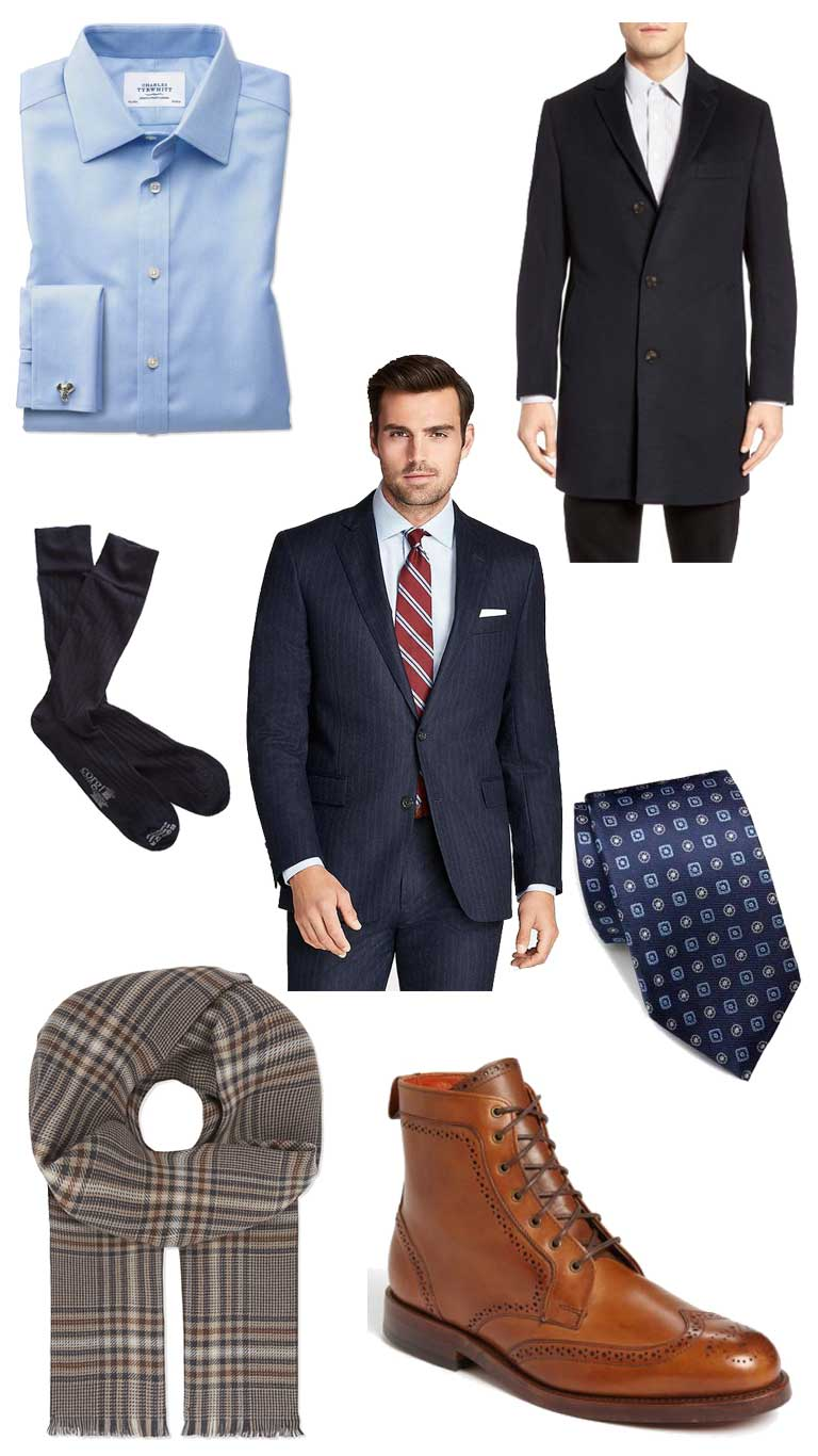 Business Dressing with Style When It's Cold Outside